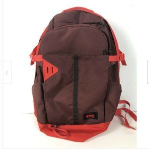 REI Co-Op Workload Max Backpack Burgundy Red Women